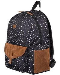 Roxy - Carribean Backpack (true Black Dots For Days) Backpack Bags - Lyst