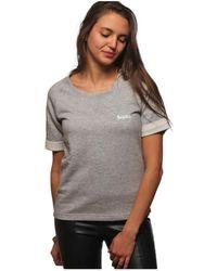L'affaire De Rufus - Organic Cotton Round Neck Sweatshirt Lisette Grey Woman Spring/ Women's T Shirt In Grey - Lyst