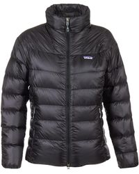Patagonia - Fitz Roy Down Jacket Women's Jacket In Black - Lyst