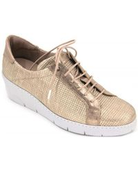 Hispanitas - Saturno Hv75139 Women's Shoes (trainers) In Gold - Lyst