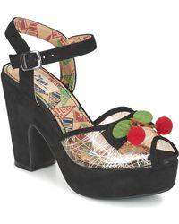 Miss L'Fire | Calypso Women's Sandals In Black | Lyst