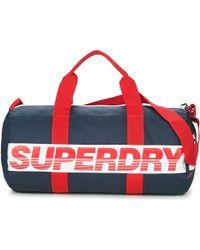 Superdry - International Barrel Men's Sports Bag In Blue - Lyst