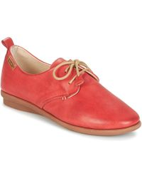Pikolinos - Calabria W9k Women's Casual Shoes In Red - Lyst