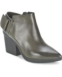 Vic Matié - Revebe Women's Low Boots In Grey - Lyst
