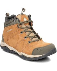 79654a68178 Columbia - Fire Venture Mid Women s Walking Boots In Brown - Lyst