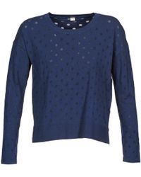 S.oliver - 13-402-61-3736 Women's Sweater In Blue - Lyst
