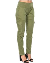 Isabella Oliver - Trousers Stretch Maternity Cargo Trousers Khaki Women's Trousers In Green - Lyst