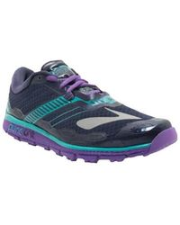 Brooks - Puregrit 5 Women's Shoes (trainers) In Black - Lyst
