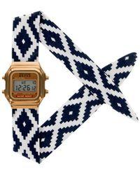 Rich Gone Broke - Digital Cuzco Watch 51629 Navy Blue Women's Watch In Blue - Lyst