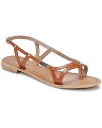 Les Tropéziennes Par M Belarbi - Isatis Women's Sandals In Brown - Lyst