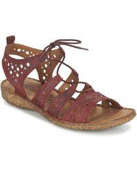 Josef Seibel - Rosalie 15 Lace Up Sandals - Lyst
