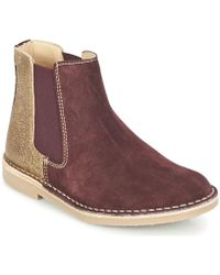 Casual Attitude - Fiana Women's Mid Boots In Brown - Lyst