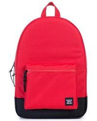 8d829b3acc2 Herschel Supply Co. - Supply Co Settlement Aspect Red Black Ballistic  Backpack Women s Backpack In