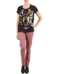 ELEVEN PARIS - Pandore Women Women's Trousers In Pink - Lyst