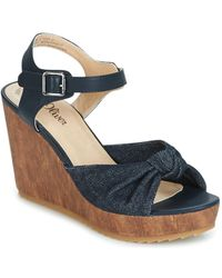 S.oliver - - Women's Sandals In Blue - Lyst