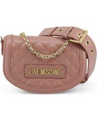 c1803e1949 Love Moschino - JC4002PP17LA 0600 femmes Sac bandoulière en rose - Lyst