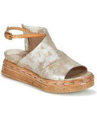 A.S.98 - Lagos Women's Sandals In Silver - Lyst