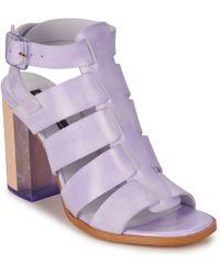 Miista - Isabella Women's Sandals In Purple - Lyst