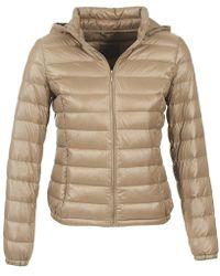 Benetton - Mala Women's Jacket In Beige - Lyst