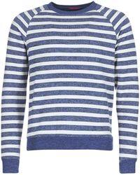 Scotch & Soda - Olnined Men's Sweatshirt In Blue - Lyst