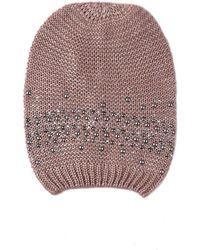 GAUDI - V6ai-67355 Hat Accessories Pink Men's Beanie In Pink - Lyst