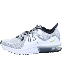 6fce7dec8de Lyst - Nike Air Max Sequent 2 Men s Shoes (trainers) In White in ...