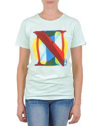 Nixon - Pacific Women's T Shirt In Green - Lyst