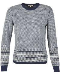 Aigle - Montpeyra Women's Sweater In Blue - Lyst