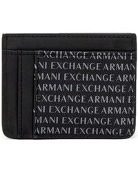 Tendance Armani Exchange - 958053 CC230 hommes Portefeuille en Noir - Lyst 746b4e3b8f6
