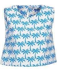 Suncoo - Lana Women's Vest Top In White - Lyst