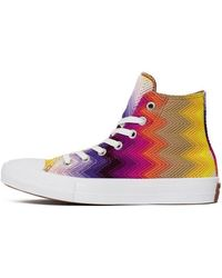 848ebb4b28d2 Converse - Chuck Taylor All Star Ii X Missoni Women s Shoes (high-top  Trainers