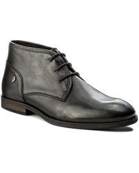 Tommy Hilfiger - Denim Jack 1a Black Men's Mid Boots In Black - Lyst