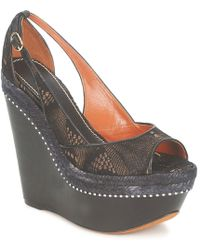 Missoni - Tm14 Women's Sandals In Black - Lyst