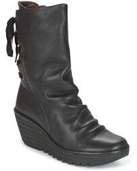 Fly London - Yada Women's Low Ankle Boots In Black - Lyst