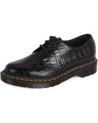 Dr. Martens - 1461 Croc femmes Chaussures en Noir - Lyst