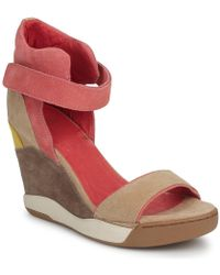 Ash - Heloise Women's Sandals In Red - Lyst