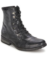 Casual Attitude - Ribelle Men's Mid Boots In Black - Lyst