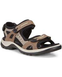 Ecco - Offroad Women's Sandals In Brown - Lyst
