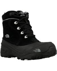 The North Face - Youth Chilkat Women's Snow Boots In Black - Lyst
