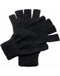 Regatta - Unisex Fingerless Mitts Gloves Women's Gloves In Black - Lyst