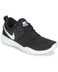 ccdeb4f777c1 Nike Free Trainer Flyknit 2 W Women s Trainers In Black in Black - Lyst