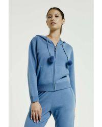 Max & Moi - Cardigan Nevada Blue Woman Autumn/winter Collection Women's Sweatshirt In Blue - Lyst