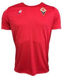 Le Coq Sportif - 2017-2018 Fiorentina Training Tee Women s T Shirt In Red - 69bdb2a00