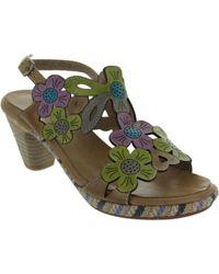 Laura Vita - Belfort 91 Women's Sandals In Brown - Lyst