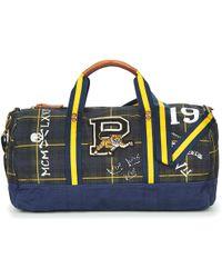 Polo Ralph Lauren - G TRTN DUFFL hommes Sac de voyage en bleu - Lyst 97ae702ad8a