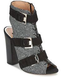 SuperTrash - Zahira Women's Sandals In Grey - Lyst
