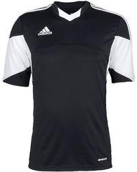 182b55af8 Adidas Tiro 13 Kurzarm Trikot Men s T Shirt In Black in Black for ...