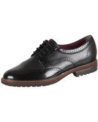 Tamaris - 12373631001 Men's Casual Shoes In Black - Lyst