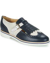 Geox - Janalee B Women's Casual Shoes In Blue - Lyst