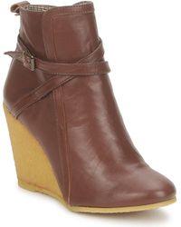 Paul & Joe - Ocasey Glove Women's Low Ankle Boots In Brown - Lyst